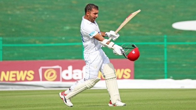 Hashmatullah Shahidi become the first Afghanistan player to smash test double hundred
