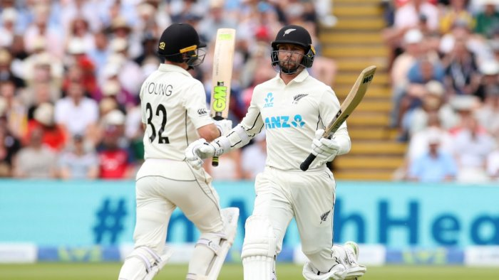 ENG vs NZ: Conway and Young Put New Zealand in Charge against England at Edgbaston