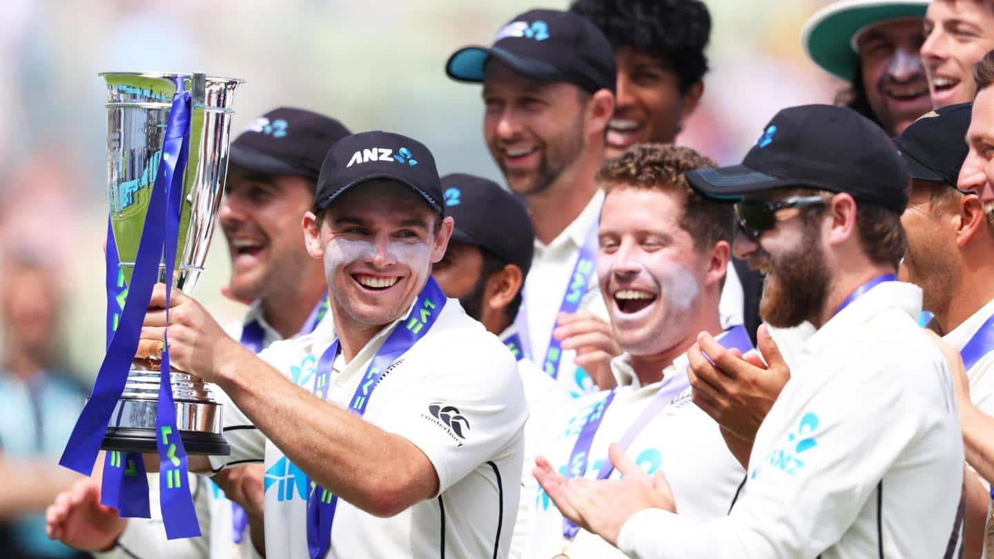 ICC Rankings: New Zealand Toople India to Become No 1 Ranked Test Team