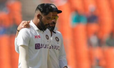 Watch Video: Virat Kohli and Mohammed Siraj pointing towards their heads mocking James Anderson
