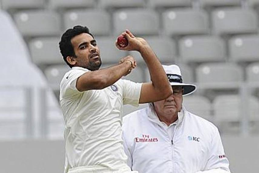 """""""By playing positive cricket, Team India's openers have sent out a strong message to England""""- Zaheer Khan"""