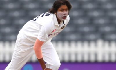 Jhulan Goswami was the hero when she hit the winning runs for India Women's Team's only win in the three-match ODI series against Australia Women's team.